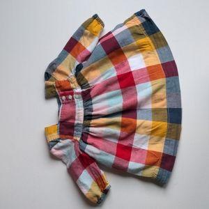 Baby Gap Plaid Dress * 3-6M